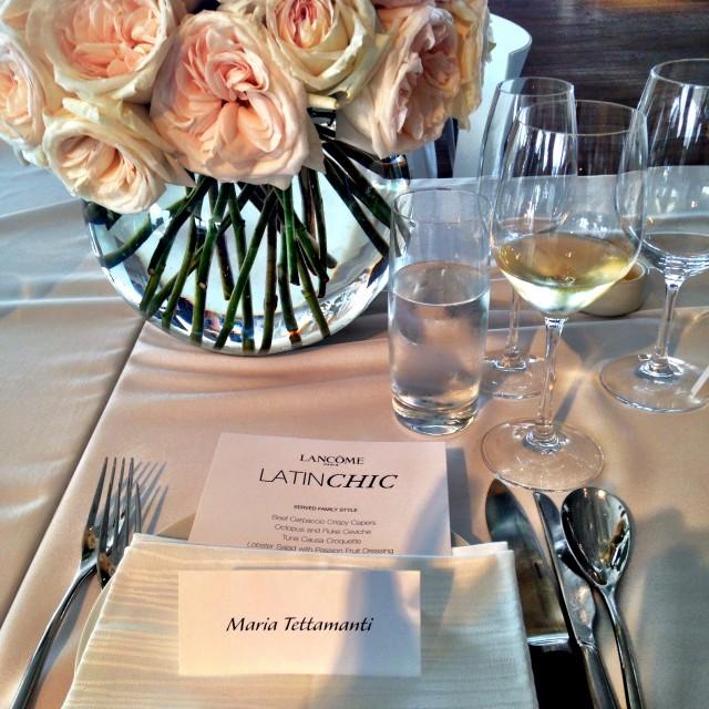 Lancome Latin Chic Event