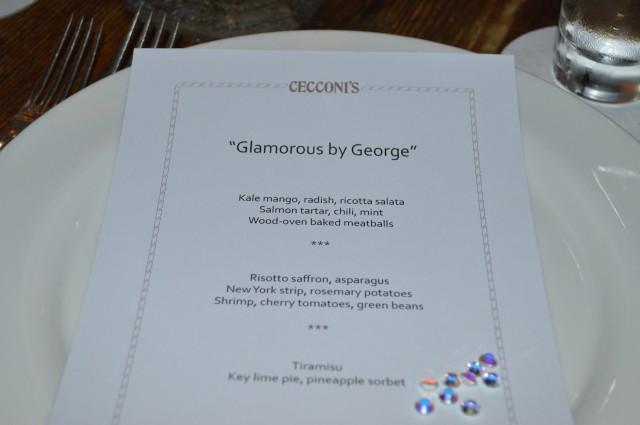 Cecconi's menu