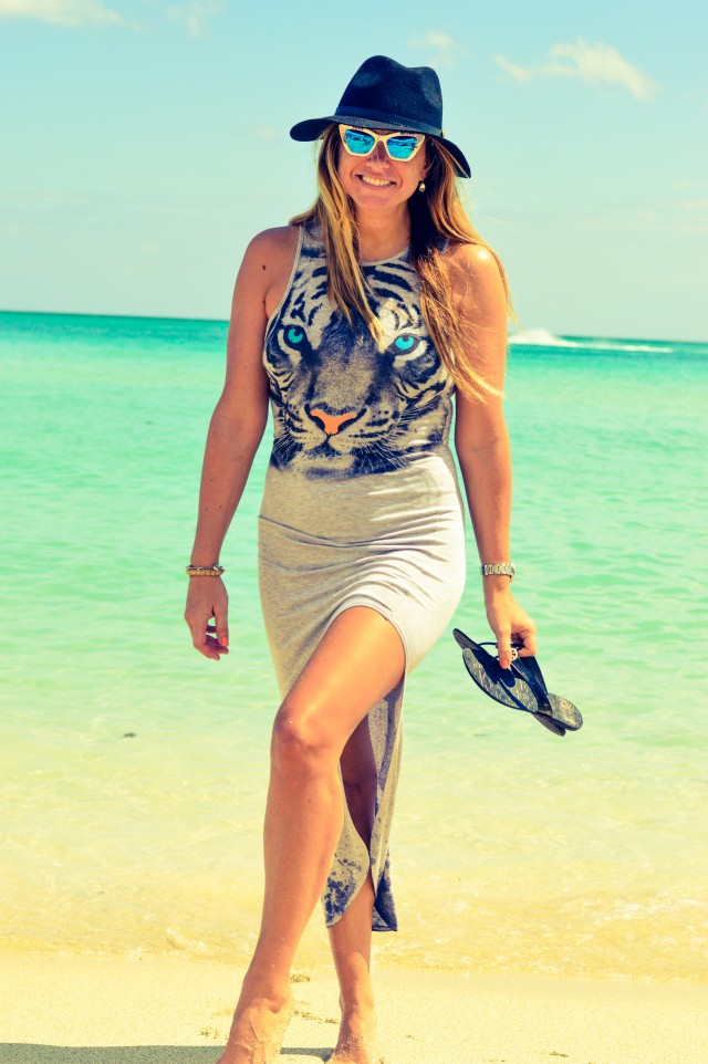 Blush Boutique Tiger Maxi Dress