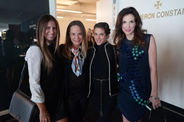 Maria Tettamanti, Erin Newberg, Ginger Harris, & Kim Caceres