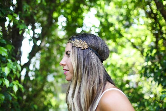 tassel headband