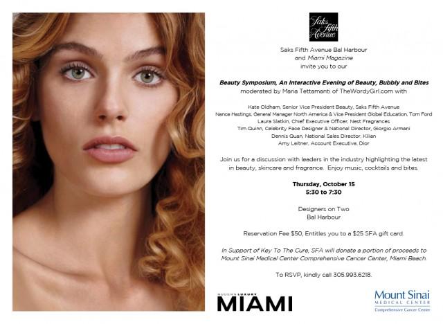 EVITE SFA BH Beauty Symposium